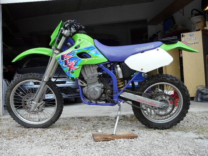 """Mon KLXR 650 Italien """"enfin"""" Klxr6513"""