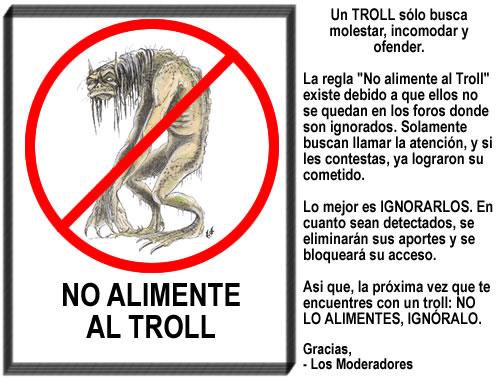 No alimentar al Troll Notrol10
