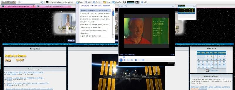 Barre à outils Forum conquête spatiale pour Firefox et Internet Explorer Barre_10