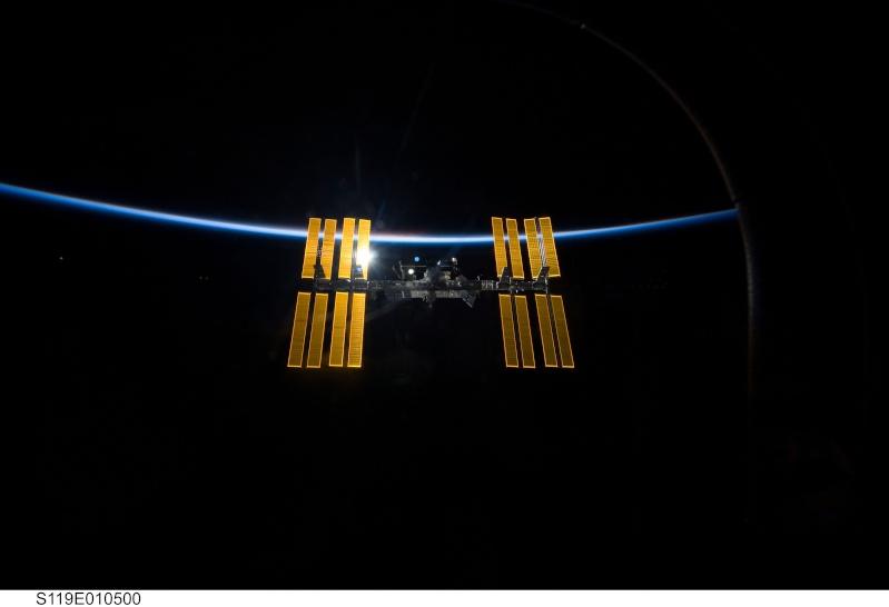 Photos ISS après STS 119 S119e011