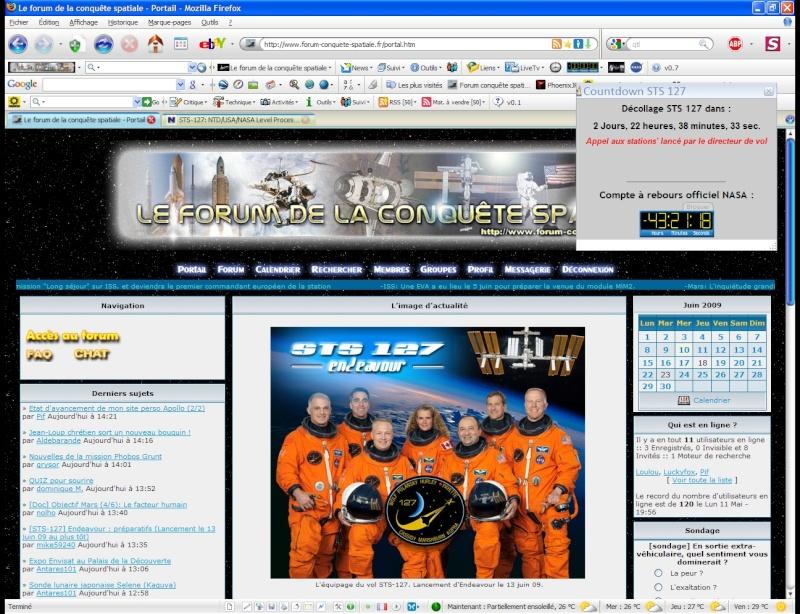 [STS-127] Endeavour : préparatifs (lancement le 12/07/2009) - Page 5 Screen12