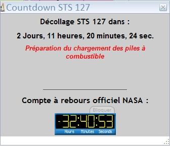 [STS-127] Endeavour : préparatifs (lancement le 12/07/2009) - Page 12 Screen13
