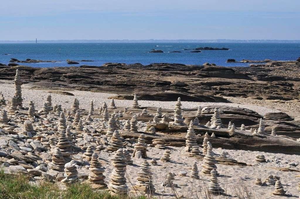 Touristes restés trop longtemps au soleil fossilisés ! Pointe12