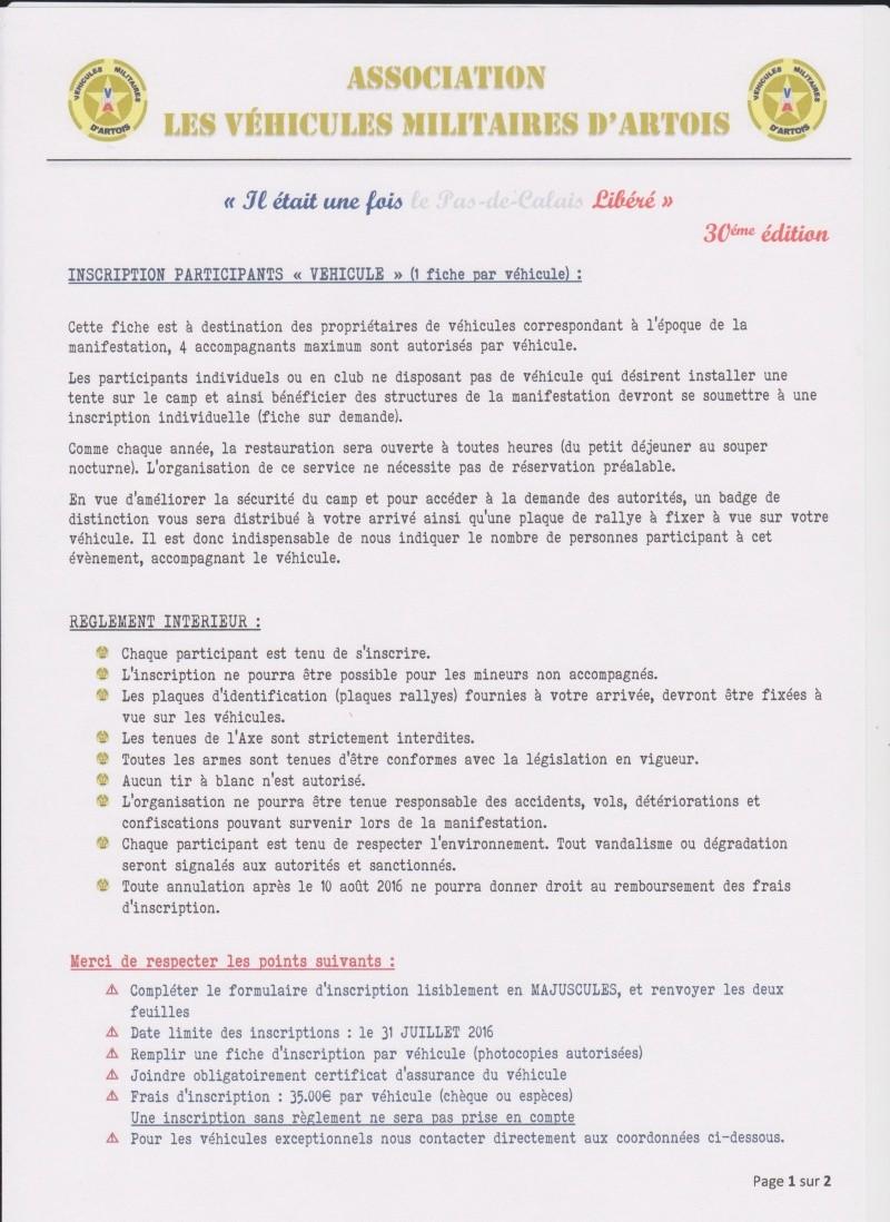 Bulletins d'inscriptions Bullet12