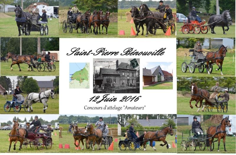 """12 Juin 2016 - Clip d'images du Concours """"Amateur 2"""" à St.Pierre-Bénouville  Affich12"""