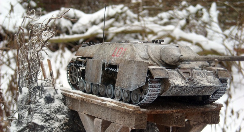 Jagdpanzer IV 1/35 Dscn2910