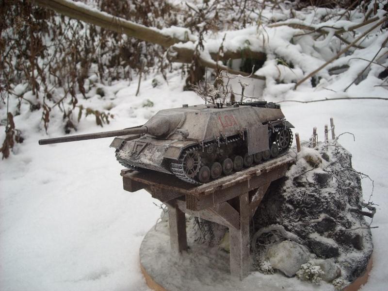 Jagdpanzer IV 1/35 Dscn2912