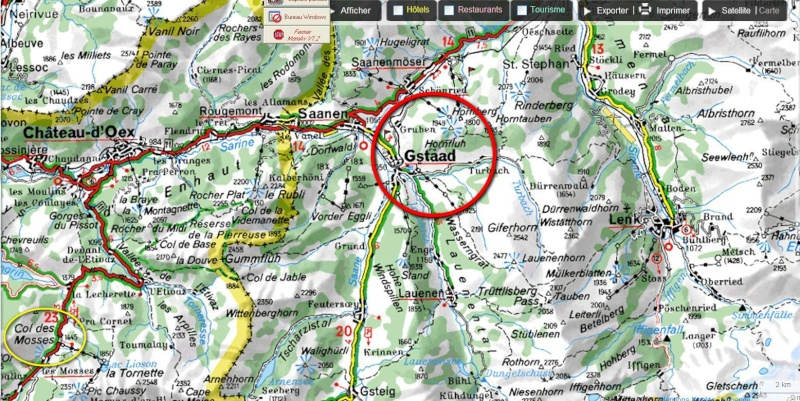 Cherche suggestions de tracés en Suisse (N au S) vers Gstaad pour été 2010 G-stad10