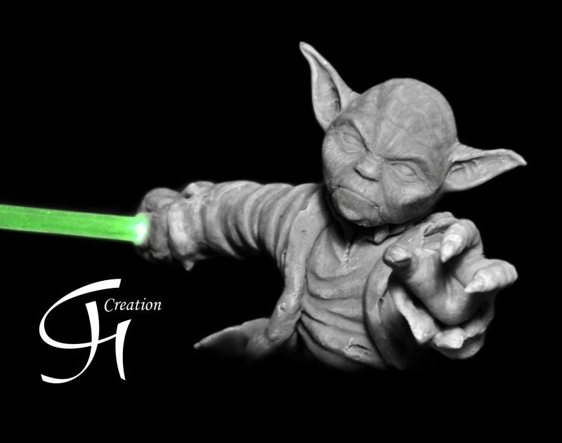 Travaux de JGCreation... (Sculpture Yoda p8) - Page 8 Yoda_p10
