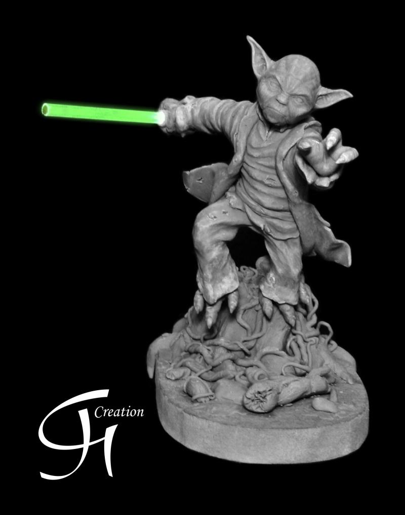 Travaux de JGCreation... (Sculpture Yoda p8) - Page 8 Yoda_p11