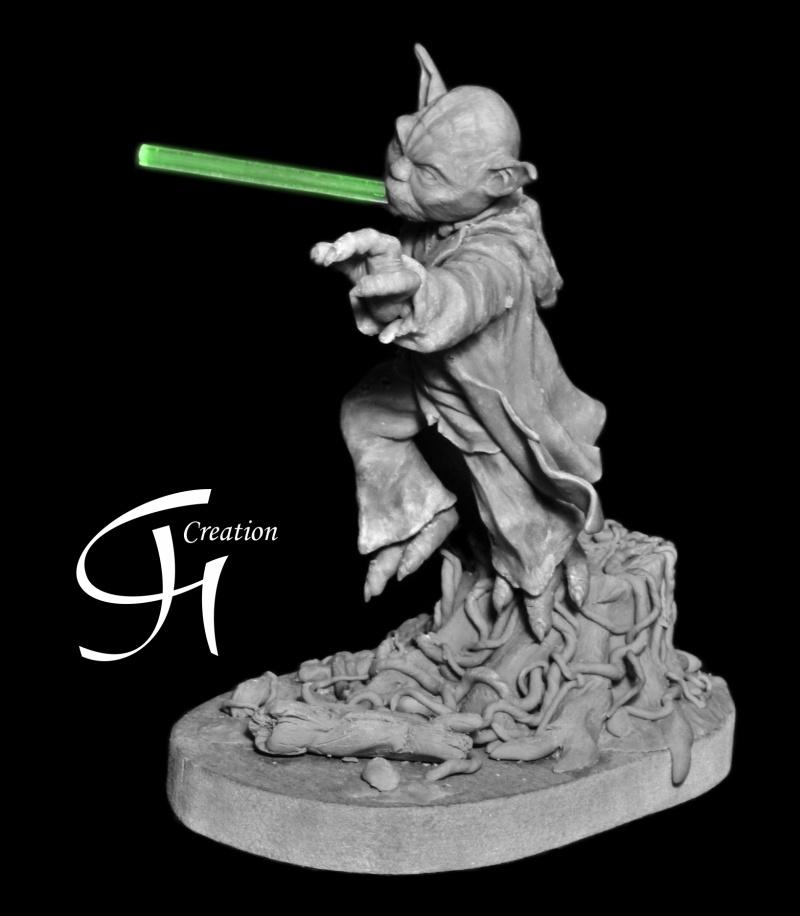 Travaux de JGCreation... (Sculpture Yoda p8) - Page 8 Yoda_p12