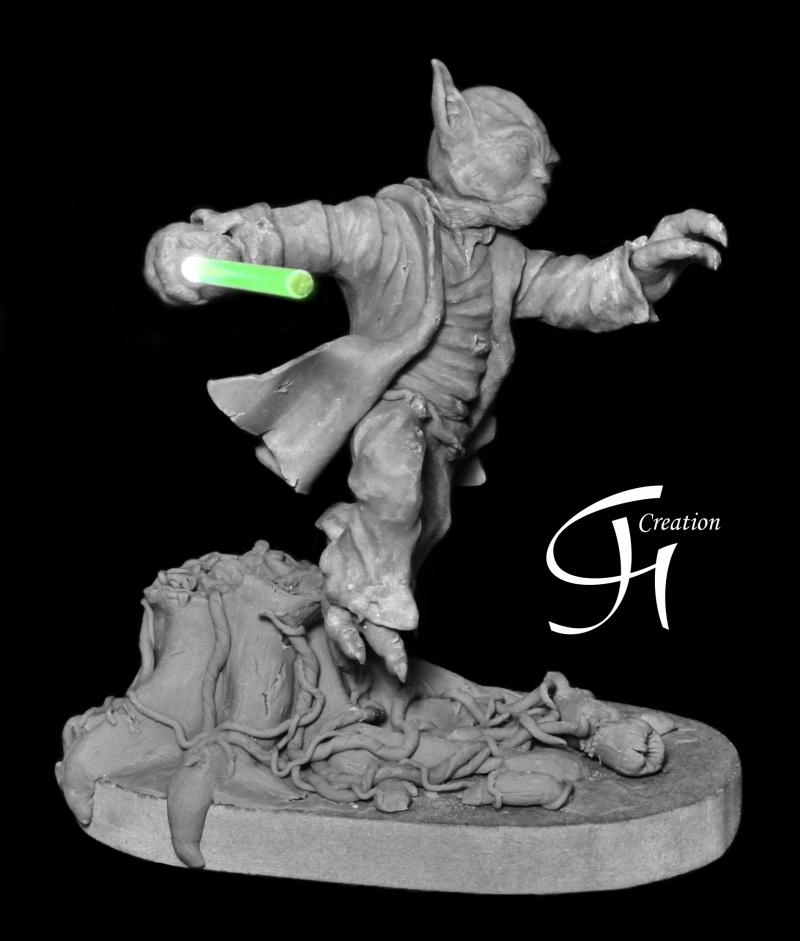 Travaux de JGCreation... (Sculpture Yoda p8) - Page 8 Yoda_p14
