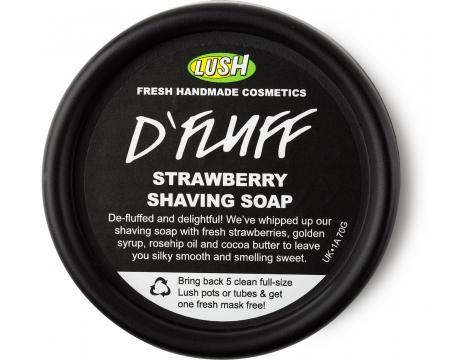 Savon LUSH:  D-Fluff Strawberry D_fluf11