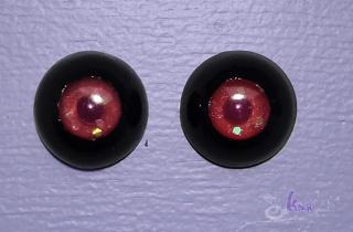urethane eyes handmade Noir_014