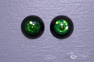 urethane eyes handmade Noir_015