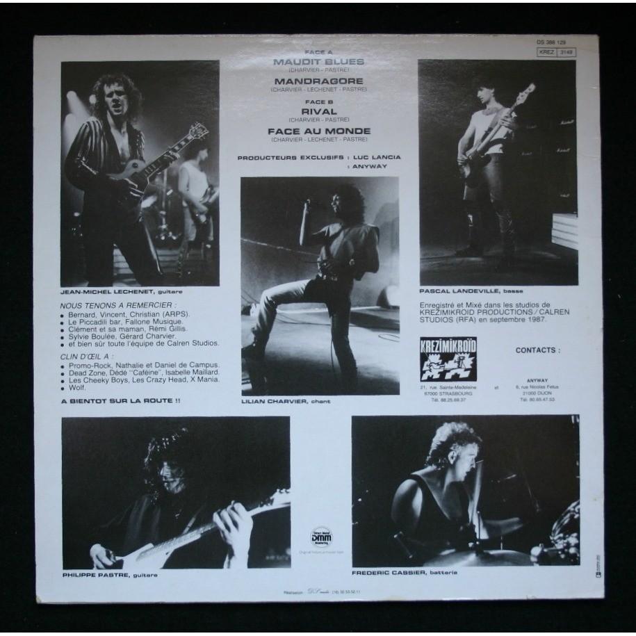 ANYWAY Rival (1988-2017) No Remorse Records Christophe Bailet 11760411