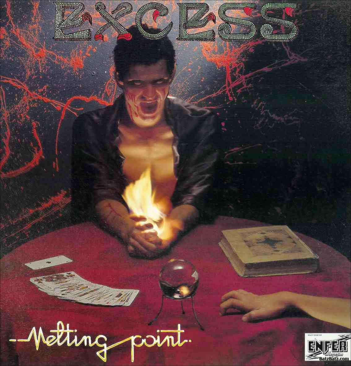 EXCESS Melting Point (1986-2016) No Remorse Records Christophe Bailet 12548610