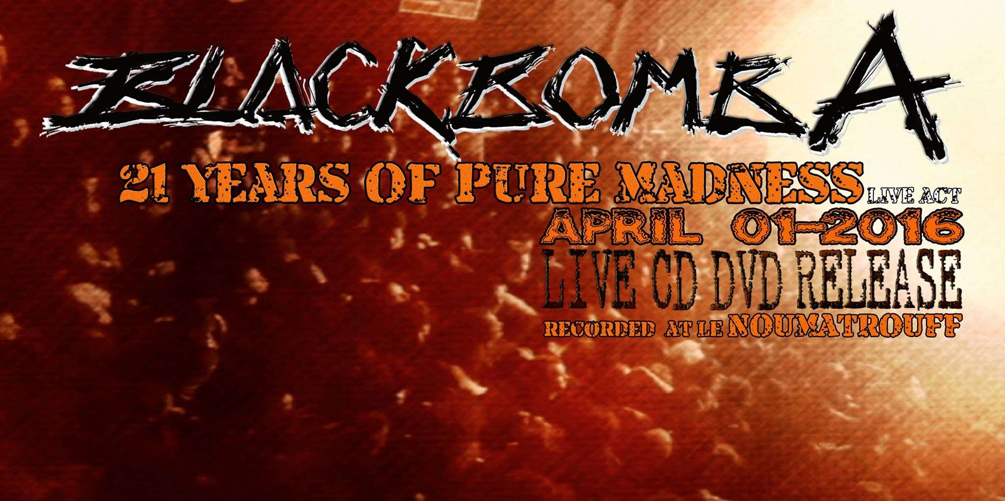 "BLACK BOMB A ""21 Years of Pure Madness"" (2016) CD/DVD Live  12772010"