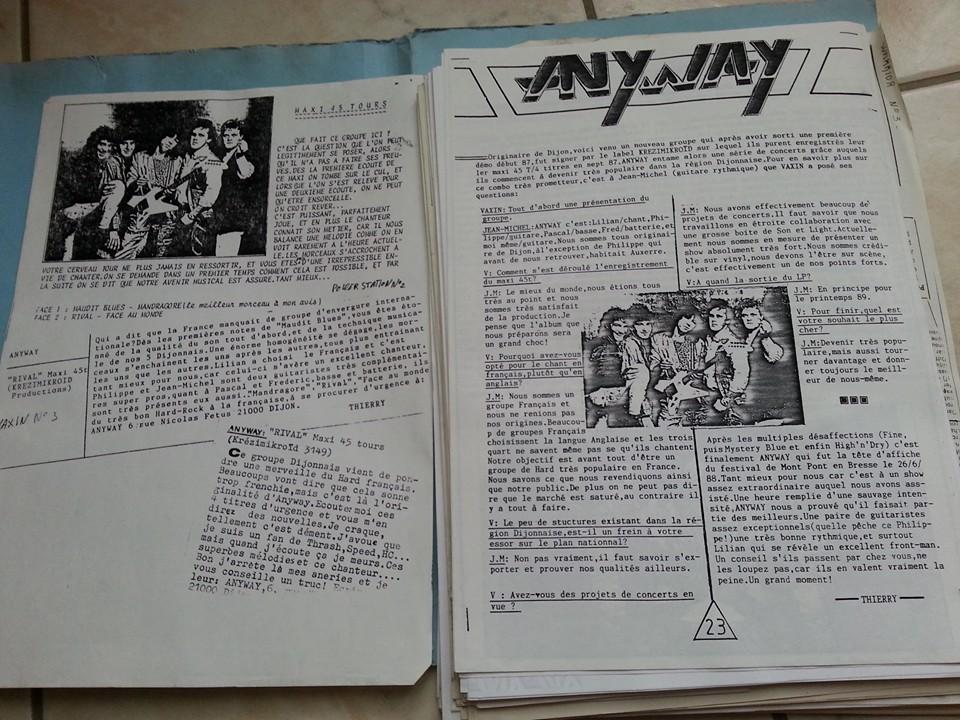ANYWAY Rival (1988-2017) No Remorse Records Christophe Bailet 13254310