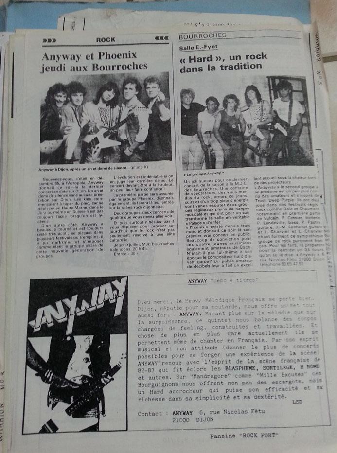 ANYWAY Rival (1988-2017) No Remorse Records Christophe Bailet 13263710