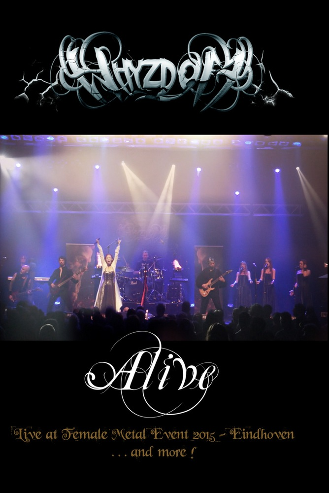 WHYZDOM Let's Play With Fire (2016) Live at Female Metal Event 2015 Eindhoven DVD Bootleg Dvd_fr10