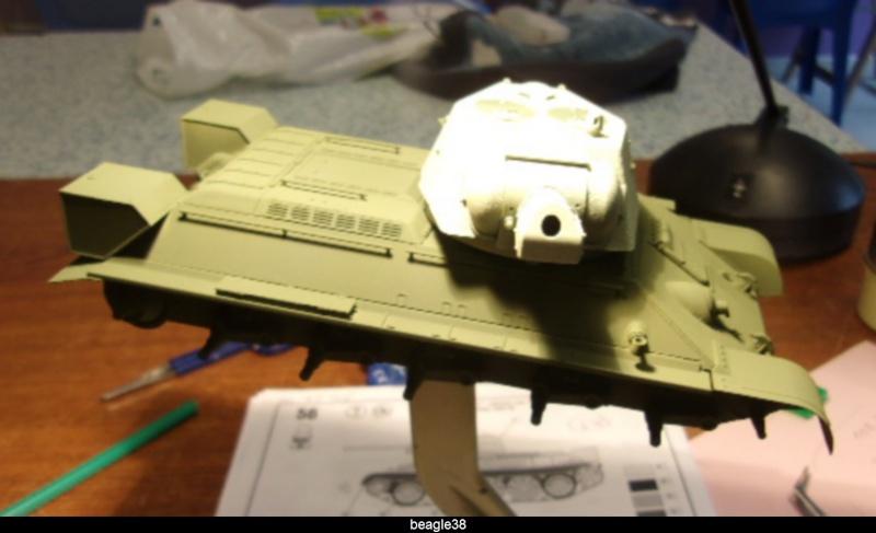 """T- 34/76 MODEL 1943 """"REVELL 114_0513"""