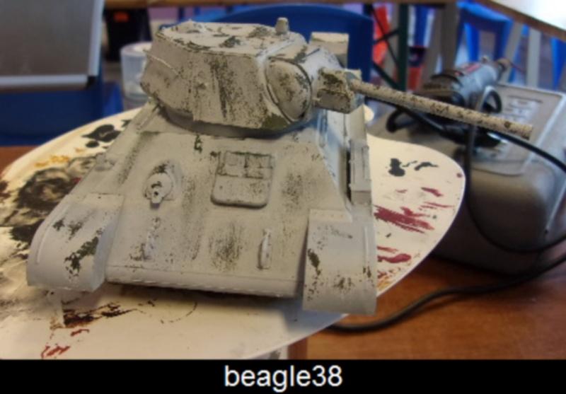 """T- 34/76 MODEL 1943 """"REVELL 114_0514"""