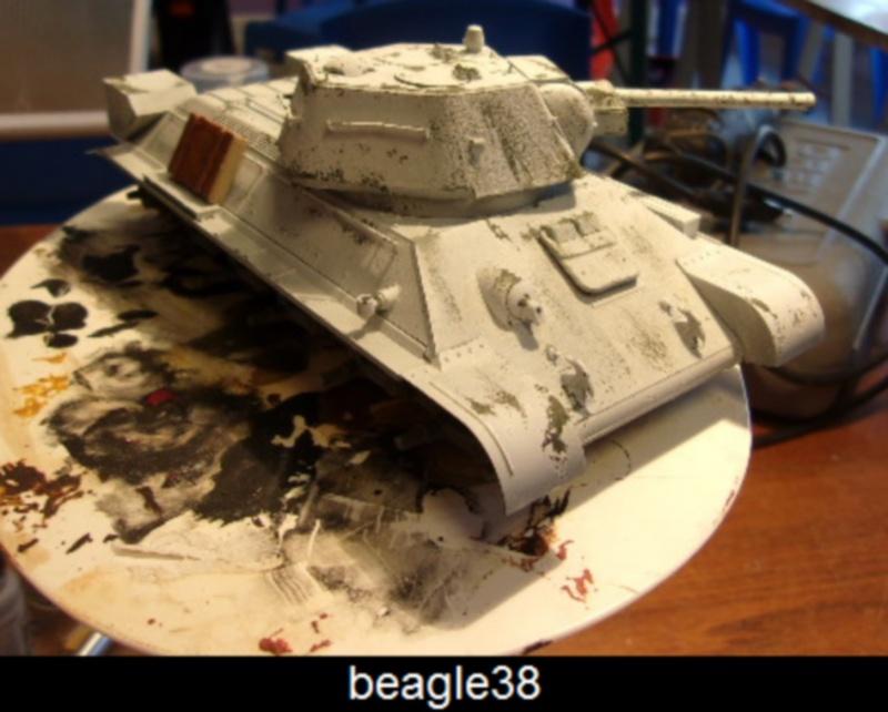 """T- 34/76 MODEL 1943 """"REVELL 114_0515"""