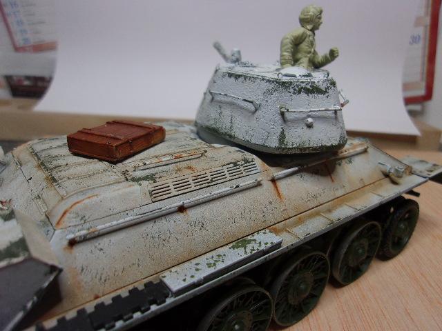 """T- 34/76 MODEL 1943 """"REVELL 114_0627"""