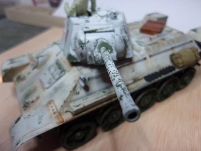 """T- 34/76 MODEL 1943 """"REVELL 114_0629"""