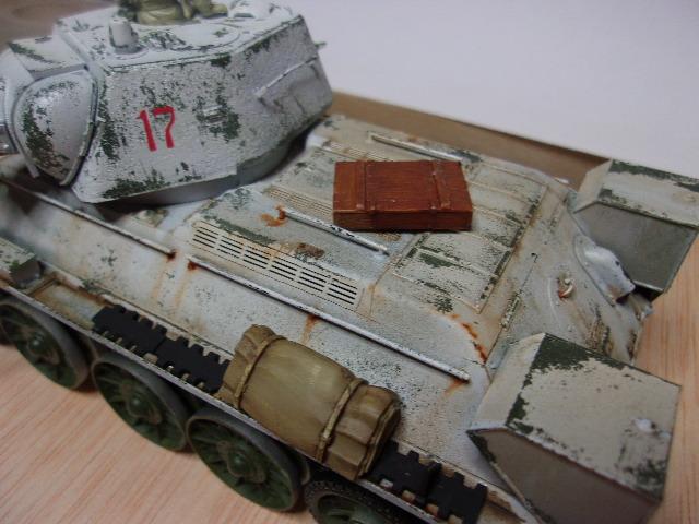 """T- 34/76 MODEL 1943 """"REVELL 114_0630"""