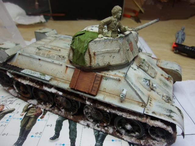 """T- 34/76 MODEL 1943 """"REVELL 114_0637"""