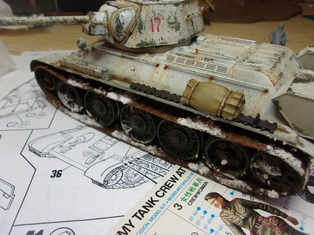 """T- 34/76 MODEL 1943 """"REVELL 114_0638"""