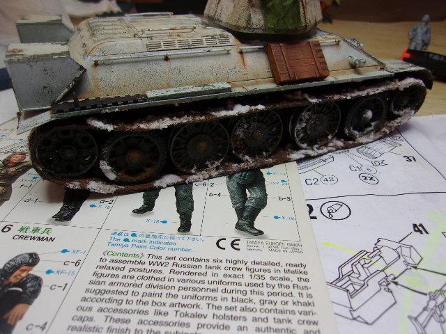 """T- 34/76 MODEL 1943 """"REVELL 114_0639"""