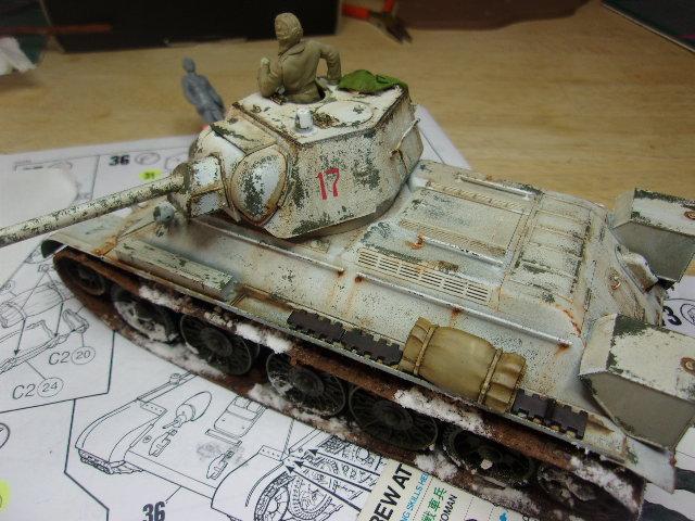 """T- 34/76 MODEL 1943 """"REVELL 114_0710"""