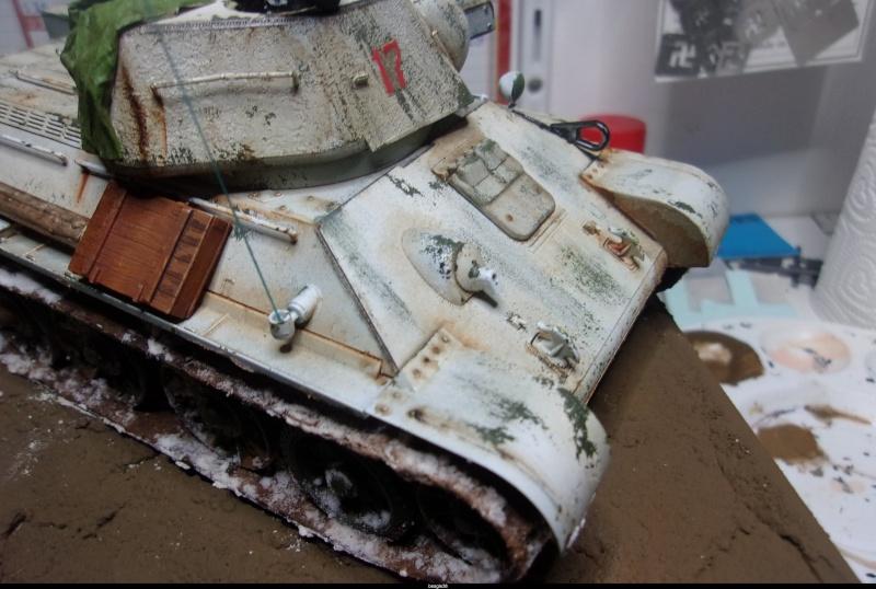"""T- 34/76 MODEL 1943 """"REVELL 114_0811"""