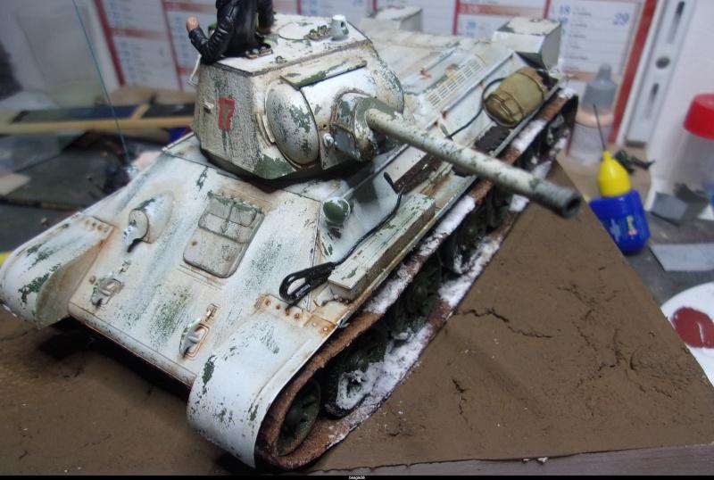 """T- 34/76 MODEL 1943 """"REVELL 114_0815"""