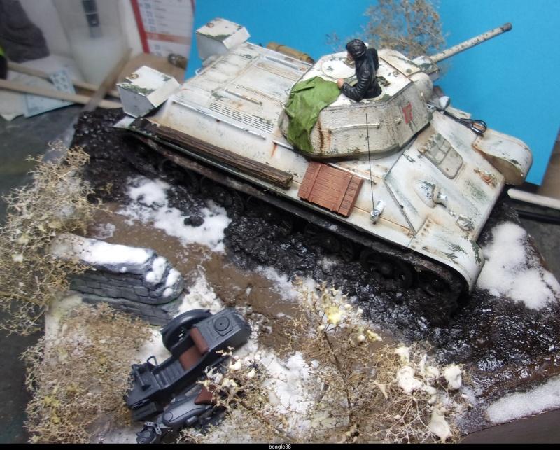 """T- 34/76 MODEL 1943 """"REVELL 114_0838"""