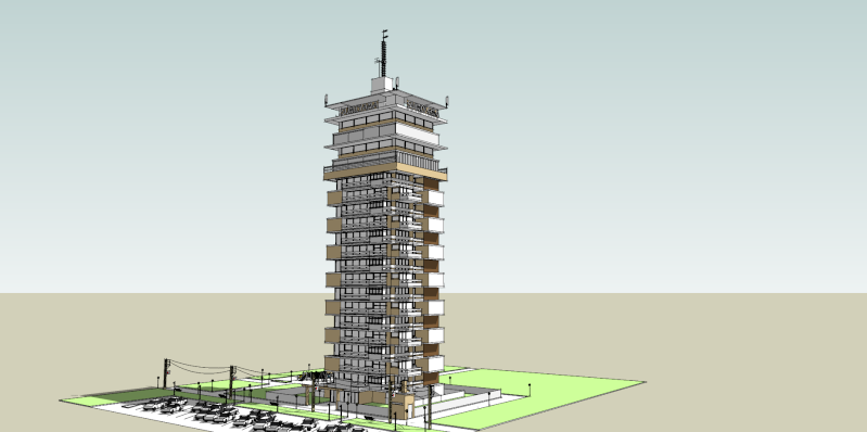 SketchUp'eur architecte -AnthO'- - Page 5 Immeub10