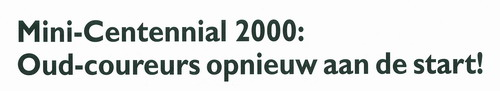 Mini-Centennial 2000 Mini-c10