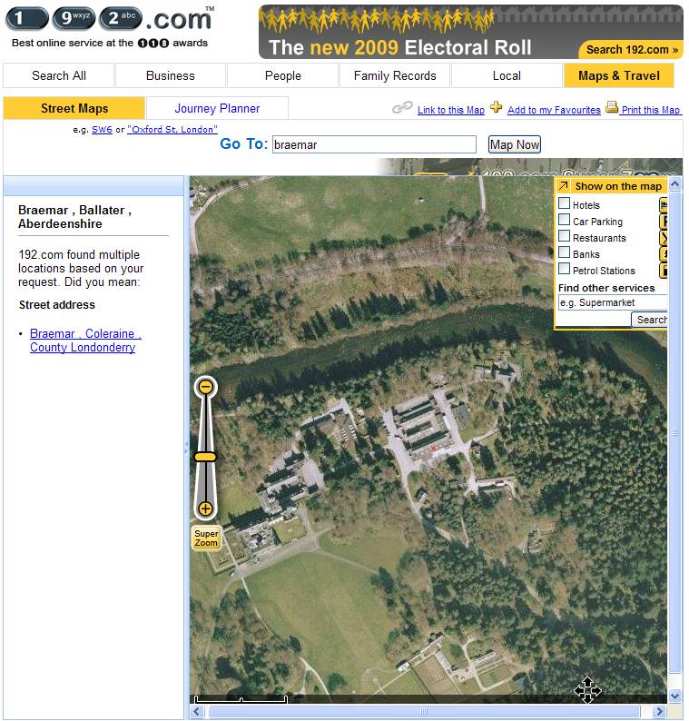 Google Earth et les AUTRES sites d'imagerie satellitaire. 1920210