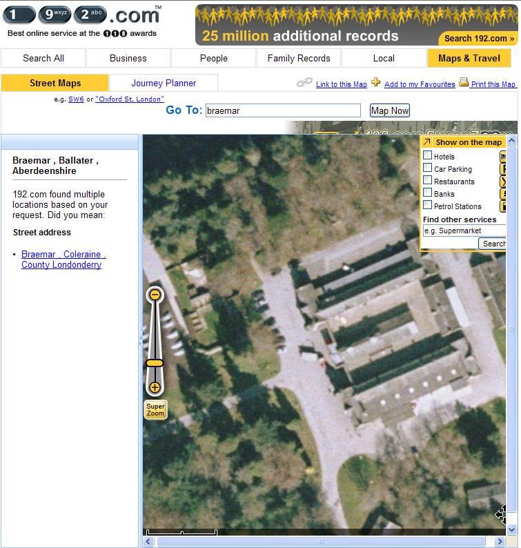 Google Earth et les AUTRES sites d'imagerie satellitaire. 1920310