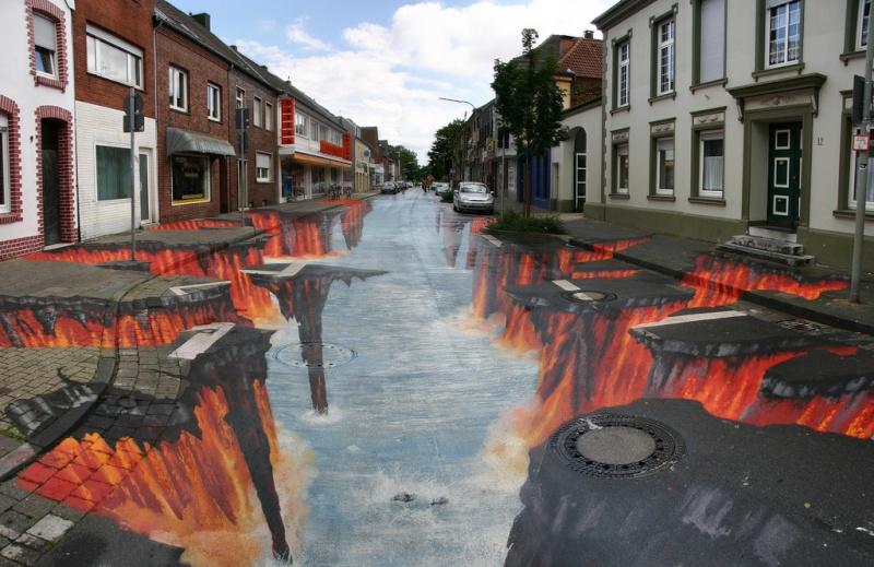 Edgar Mueller - Street Art 3D - Street Painting. 27895510