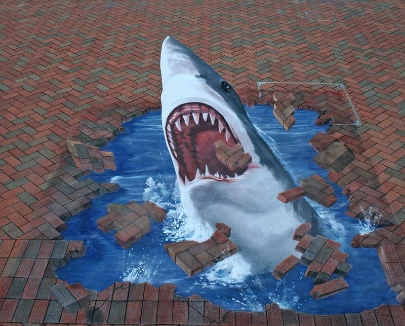 Edgar Mueller - Street Art 3D - Street Painting. 32385310