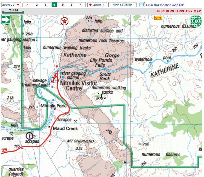 Gorges de Katherine (Nitmiluk National Park) - Australie Captu132