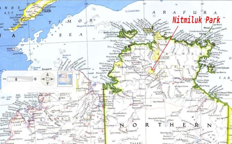 Gorges de Katherine (Nitmiluk National Park) - Australie Captu135