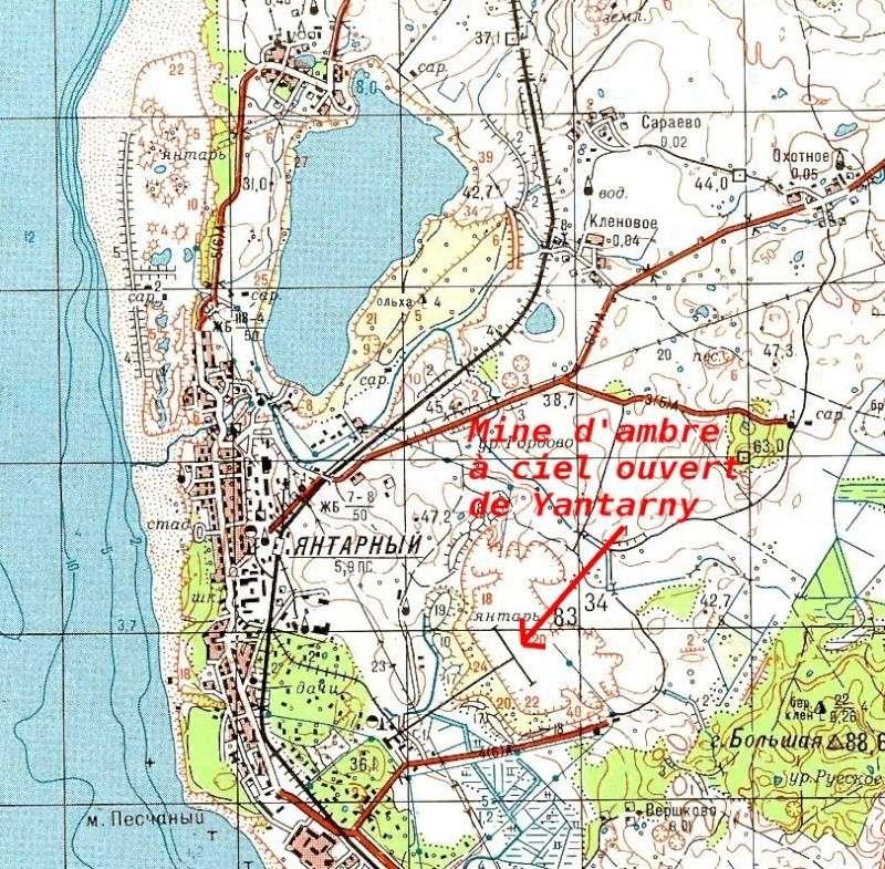 Mine d'ambre de Yantarny - Enclave de Kaliningrad - Russie Captu162