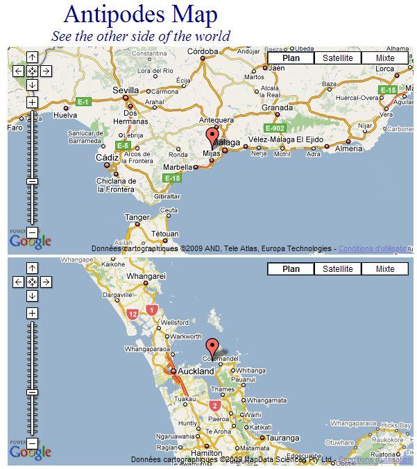 Les Antipodes sur Google Maps Captu241