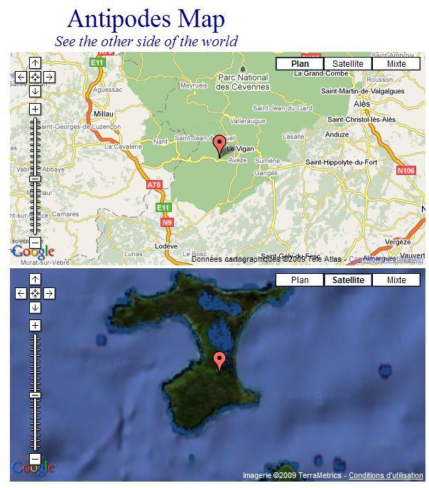 Les Antipodes sur Google Maps Captu242