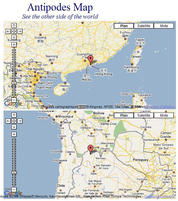Les Antipodes sur Google Maps Captu243